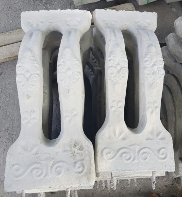 Beautiful Double Decorative Balusters For Sale
