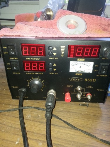 Heat Gun Station Salder