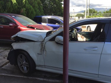 2012 Mercedes Benz C200 AMG (Damaged) – $735,000