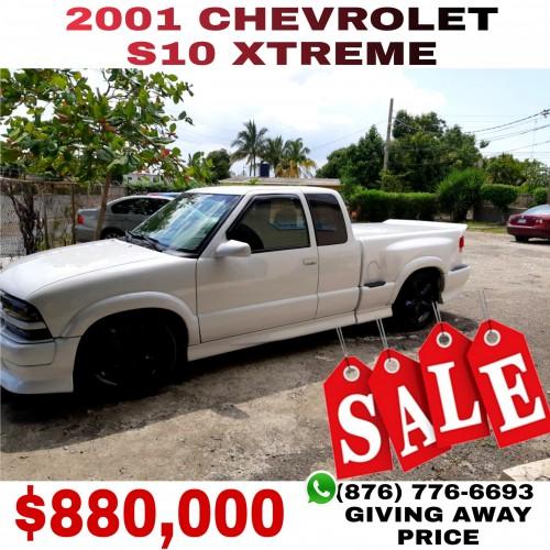 2001 Chevrolet  S10 Xtreme