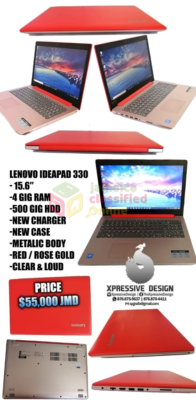 Lenovo Ideapad 330 for sale in New Kingston Kingston St Andrew - Laptops