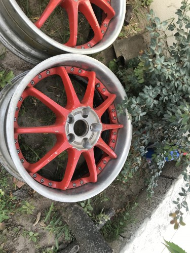 17 Rims And 2 Bran New Tires For Sale No Weld No B