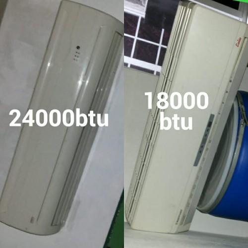 Used 18000btu  & 24000btu A/C Unts 4 Sale 35k&40k