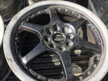 "Honda C EF Complete Trunk With Spoiler, 16"" Rims"