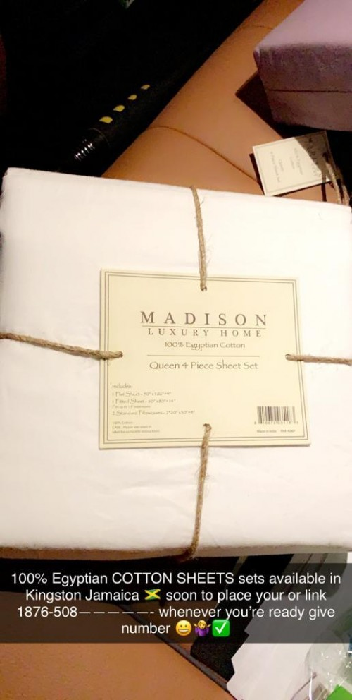 Sheet Madison Brand 5000 Queen And 6000 King 100%
