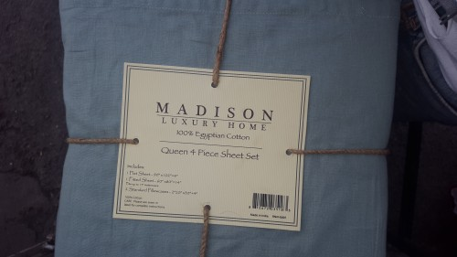 100%cotton Madison Sheet King And Queen 5000-6000