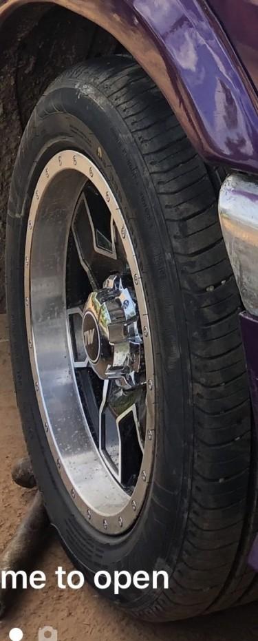 """16"""" 6 Lug Rims And Tyres"""