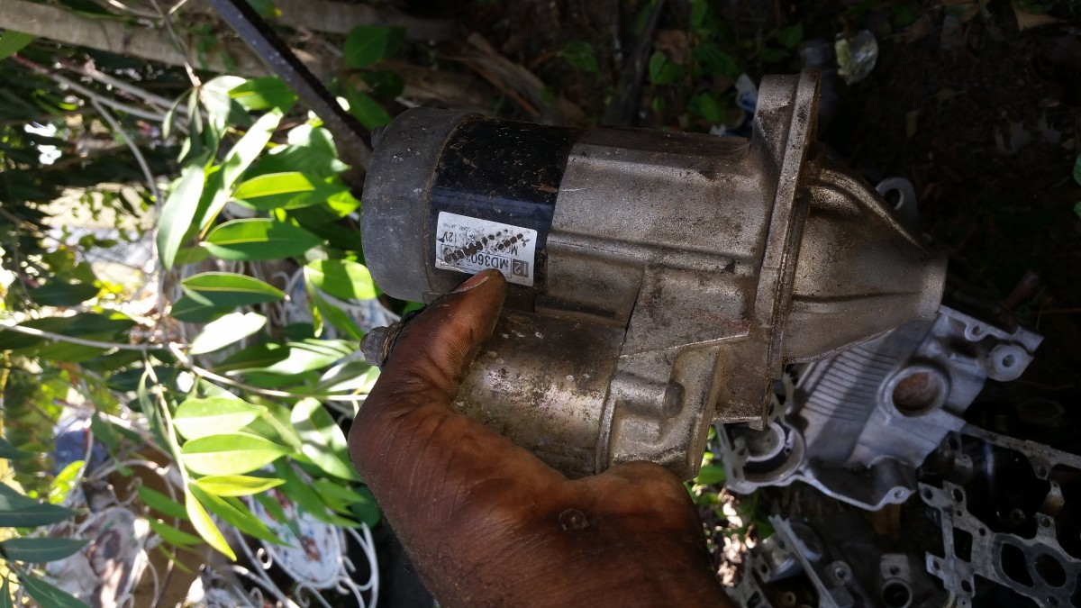 4g94 Engine Parts N Transmission With All Sensors for sale
