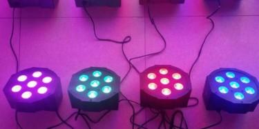 SET OF 6 LED PAR STAGE LIGHTS FOR SALE