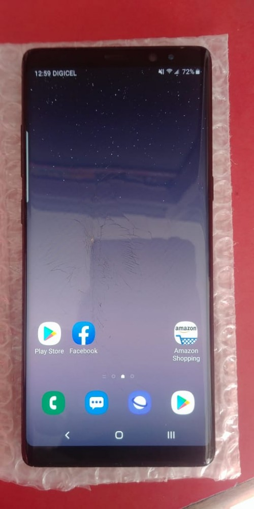 SAMSUNG Galaxy Note 8 Top Glass Crack