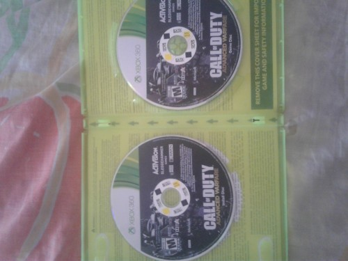 Xbox 360 Cds For Sale Both Working Gud 2disc Cod A