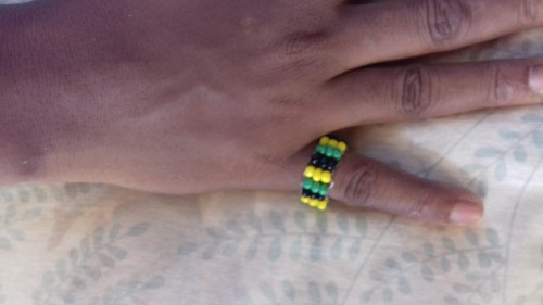 Bead Ring In Jamaica  Colours