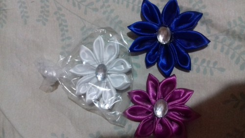 Hair Clip In Flowers