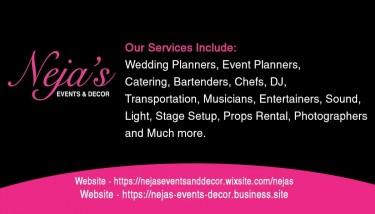 Neja's Events & Decor