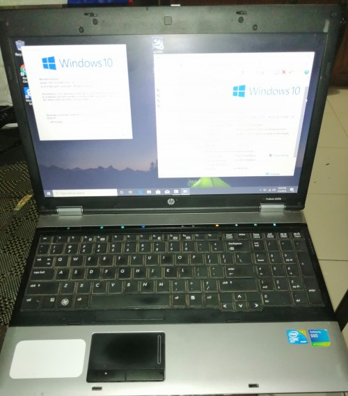 Graphics Or Workstation Laptop + Docking Station