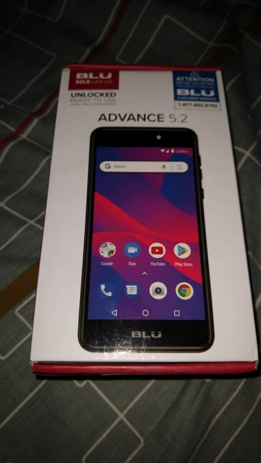 BLU Advance 5.2 International Factory Unlocked