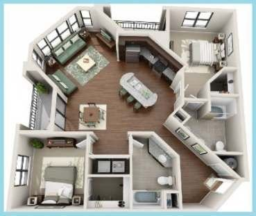 1 Bedroom Apartment For Single Person