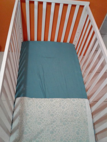 Baby Crib And Mattress Still In Plastic