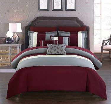 10 Piece Twin Size Bed Comforter