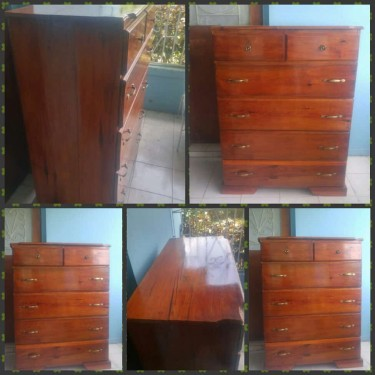 Chest Of Drawer (6 Drawers ) Solid Wood