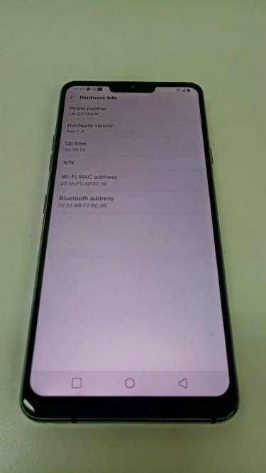 Used LG G7 ThinQ Grey (Unlocked) With Accessories