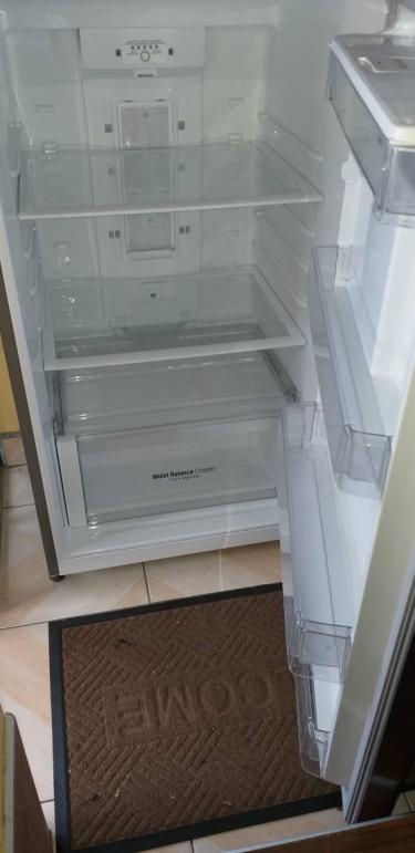 LG Smart Inverter Refrigerator 14 Cubic, Stainless