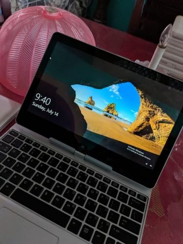 HP TouchScreen Convertible Laptop Elitebook