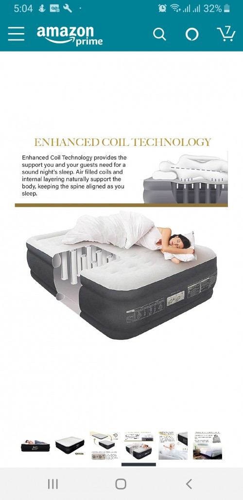 King Koil Queen Size Airbed
