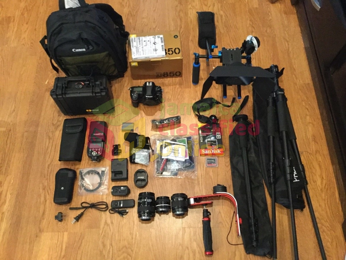 New Original Nikon D850 With Complete Lens Kit for sale in 1485