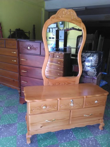Beautiful Solid Wood Dresser For Sale