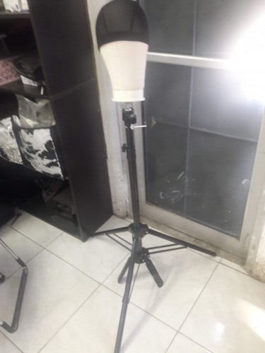 Tripod Stand And Canvas Mannequin Head