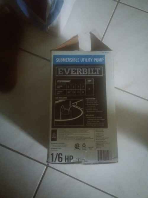 EVERBILT Submersible Utility Pump