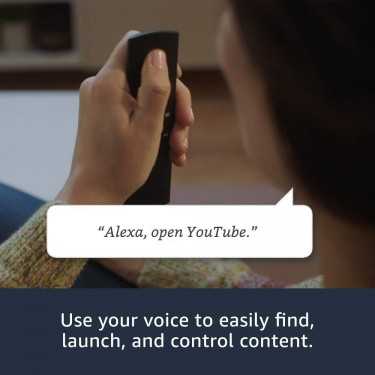 Fire TV Stick With Alexa Voice Remote, Streaming.