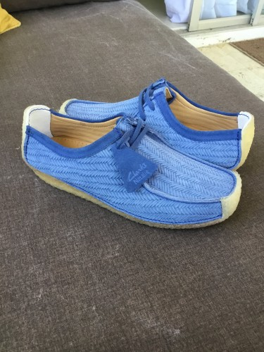 Brand New Clarks | Natalie Night Blue | US 10.5