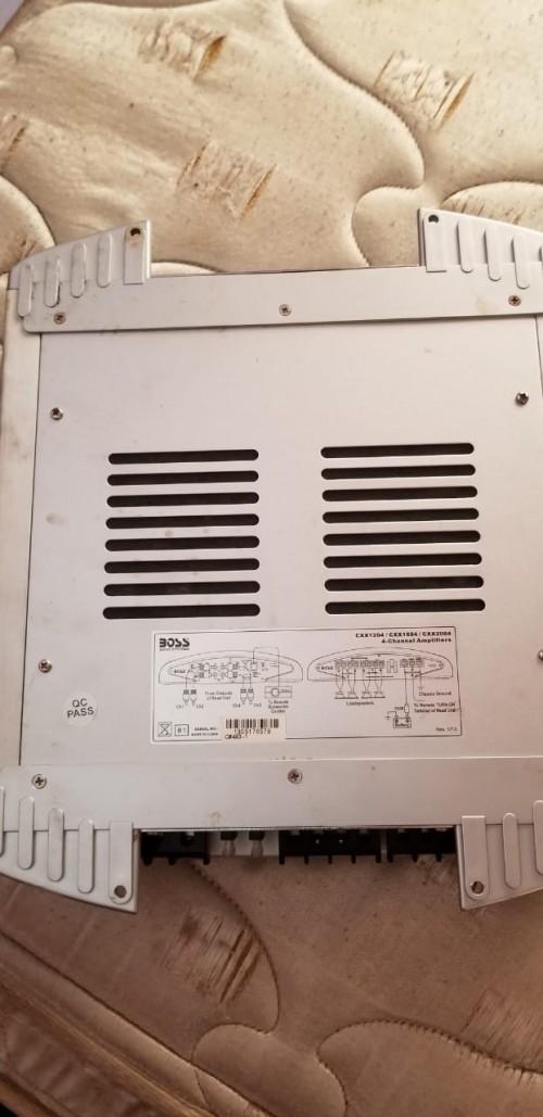Boss 1200 Watts 4 Channel Plus Preamp
