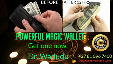 Powerful Money Making Magic Wallet.+27810967400