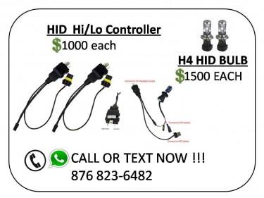 HID HI/LO CONTROLLER/HID BULBS/BELTS/VALVE CAP