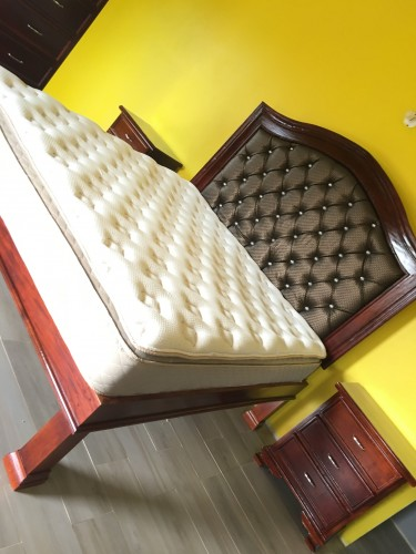 King Bedframe (head And Base Only)