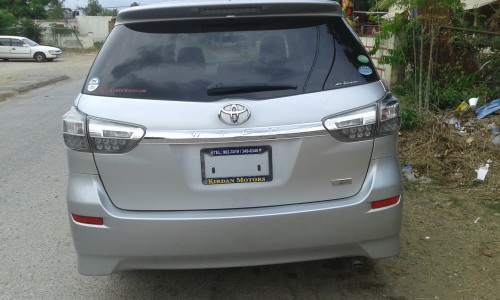2012 Toyota Wish, 47,000 Km .clean