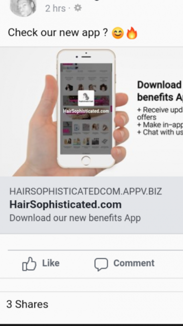 Online Store Www.hairsophisticated.com