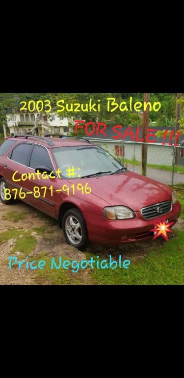2003 Suzuki Baleno