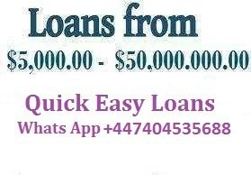 Business And Project Loans/Financing