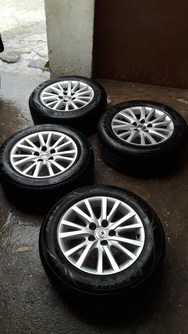 16 Inch  5 Lug Rims And Tyre