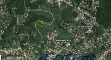 MONTEGO HEIGHTS...1/3 ACRE LAND FOR SALE