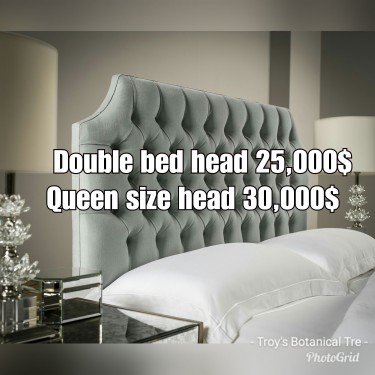 Leather Bed Head Bed Foot And Ottomans