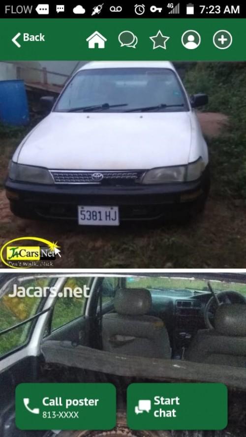 Toyota Corolla Wagon 2002