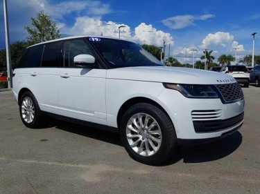 2019 Land Rover Range Rover AWD HSE 4dr SUV