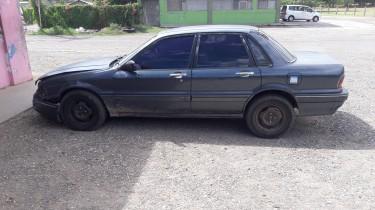 1991 Mitsubishi Galant Damaged