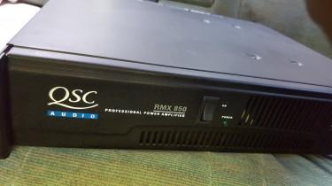 Amplifier  Qsc Amps