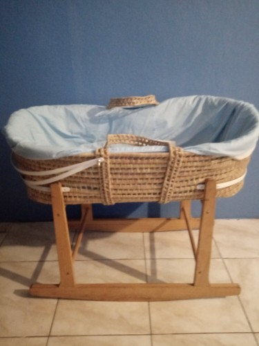 Baby Rocking Basket Bed